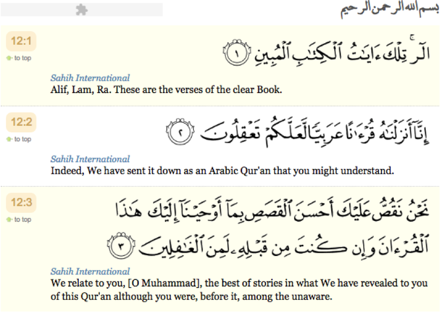 The best of stories – Surah Yusuf (AS) Part 1 – Luton